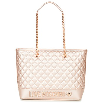 Sacs Femme Cabas / Sacs shopping Love Moschino JC4003PP15 Rose / Doré