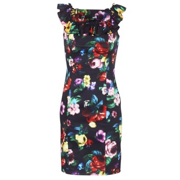 Vêtements Femme Robes courtes Love Moschino WVG3100 Noir / Multicolore