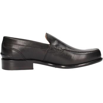 Chaussures André 300-17 vitello nero mocasines homme noir