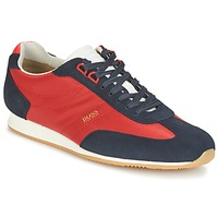 Chaussures Homme Baskets basses Hugo Boss Orange ORLANDO LOW PROFILE Rouge / Marine