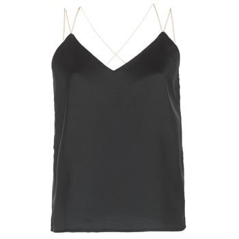 Vêtements Femme Tops / Blouses See U Soon 8111095 Noir