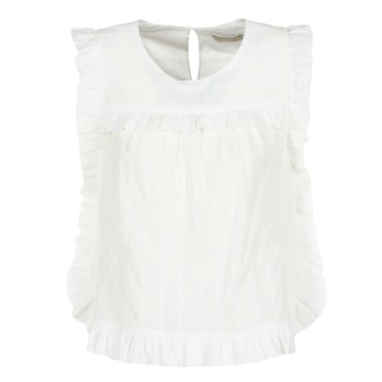 Vêtements Femme Tops / Blouses See U Soon 8111036 Blanc
