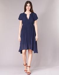 Vêtements Femme Robes courtes See U Soon 8121119 Marine