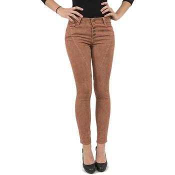 Vêtements Femme Jeans slim Lee Cooper pantalons  005977 jaxy 7909 orange orange