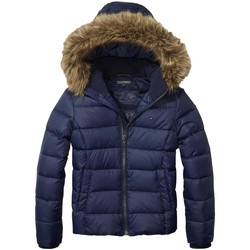 Vêtements Fille Doudounes Tommy Hilfiger AME THKG DG BASIC DOWN JACKET Blue