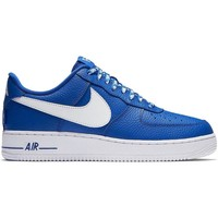 Chaussures Homme Baskets basses Nike ZAPATILLAS  AIR FORCE 1 AZUL BLANCO Bleu