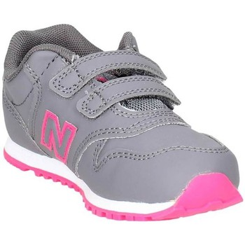 Chaussures Fille Baskets basses New Balance KV500PNI Petite Sneakers Fille Gris/Fuchsia Gris/Fuchsia