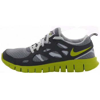 Chaussures Enfant Baskets basses Nike Free Run 2 (GS) - 443742-022 Gris