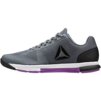Chaussures Femme Fitness / Training Reebok Sport CrossFit Speed TR 2.0 Gris / Noir
