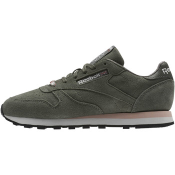 Chaussures Femme Baskets basses Reebok Classic Classic Leather Weathered & Washed Vert / Marron / Rose