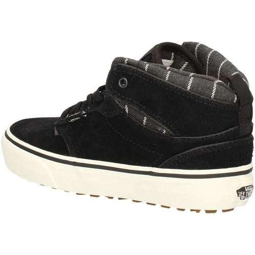 Chaussures Garçon Baskets montantes Vans VN-0 A3DS5I28 NOIR