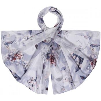 Accessoires textile Femme Echarpes / Etoles / Foulards Allée Du Foulard Etole soie Elise gris