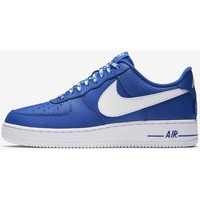 Chaussures Homme Baskets basses Nike Air Force 1 Low 07 LV8 Statement Game 823511 405 Blanc-Bleu