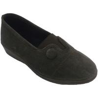 Chaussures Femme Chaussons Made In Spain 1940 Chaussure en cuir élastique et fermée au marrón