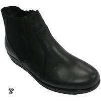 Chaussures Femme Bottines 48 Horas Botanique pour femme  en noir negro