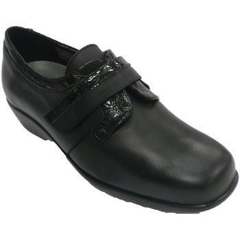 Chaussures Femme Mocassins Trebede Chaussure en cuir verni femme  en negro