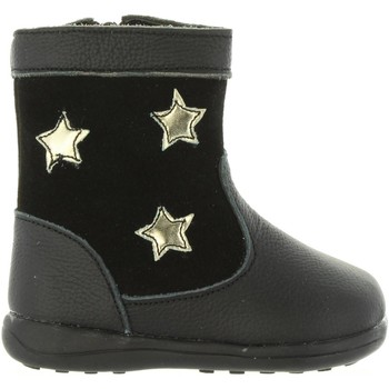 Chaussures Fille Bottes ville Happy Bee B171194-B1153 Negro