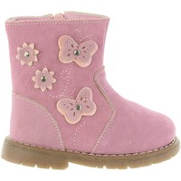Chaussures Fille Bottes ville Happy Bee B171924-B1153 Rosa