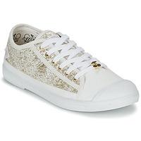 Chaussures Femme Baskets basses Le Temps des Cerises BASIC 02 Doré