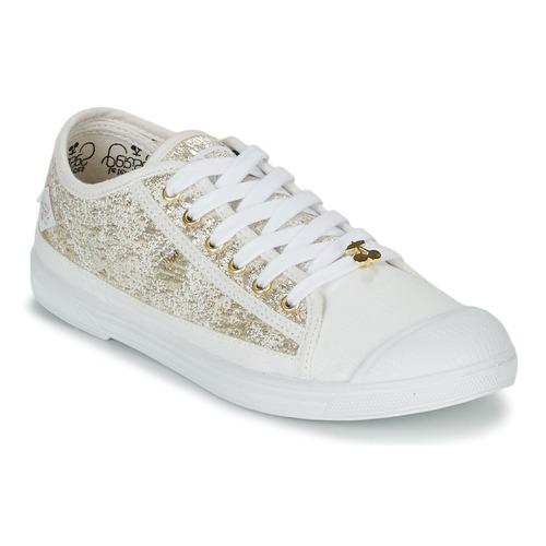 081f8e85afd6c Chaussures Femme Baskets basses Le Temps des Cerises BASIC 02 Doré