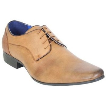 Chaussures Homme Derbies Kebello Chaussures ELO557 marron