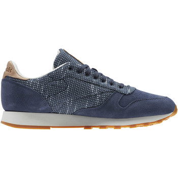 Chaussures Baskets mode Reebok Classic Classic Leather Needlecraft Pack Gris