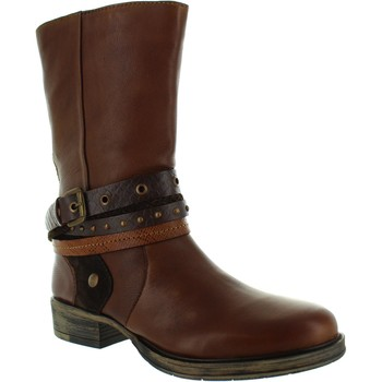 Chaussures Femme Bottes ville Lotus Huambo marron
