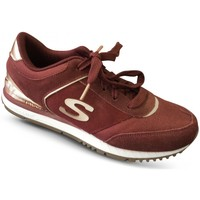 Chaussures Femme Baskets basses Skechers Basket SUNLITE Revival Bordeaux rouge