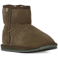 Chaussures Fille Boots EMU WALLABY MINI KAKI Verde