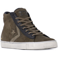 Chaussures Baskets montantes Converse PRO LEATHER VULC Grigio