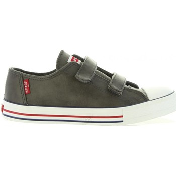 Chaussures Enfant Baskets basses Levi's VTRU0019S TRUCKER LOW Gris