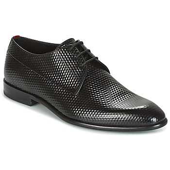 Chaussures Homme Derbies HUGO-Hugo Boss DRESS APPEAL DERBIE Noir