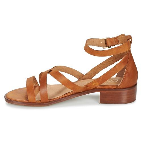 Sandales Femme Et Marron Coutil Nu pieds Casual Attitude 1JuF5KTlc3
