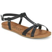 Chaussures Femme Sandales et Nu-pieds Casual Attitude IPLEM Noir