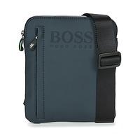 Sacs Homme Pochettes / Sacoches Hugo Boss Green Bags HYPER T S ZIP Marine / Blanc