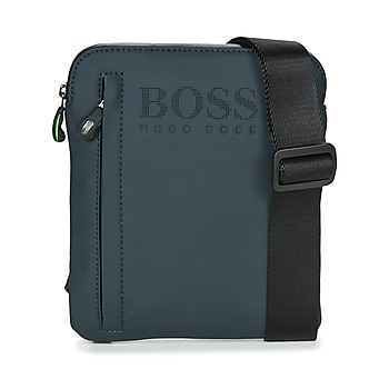 Sacs Homme Pochettes / Sacoches Hugo Boss Green HYPER T S ZIP Marine / Blanc
