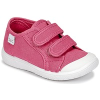 Chaussures Fille Baskets basses Citrouille et Compagnie GLASSIA Rose