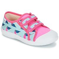 Chaussures Fille Baskets basses Citrouille et Compagnie GLASSIA Multicolore