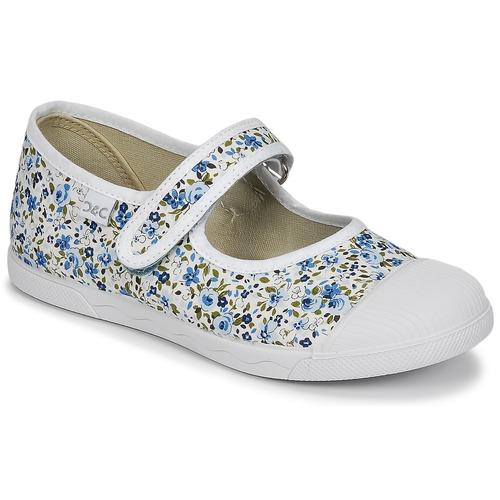 Chaussures Fille Ballerines / babies Citrouille et Compagnie APSUT Bleu / Blanc