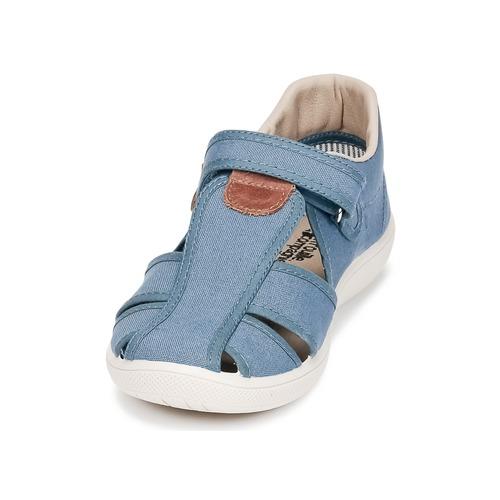 Compagnie Guncal Et pieds Bleu Citrouille Garçon Sandales Nu Chaussures 0NPkX8wnO