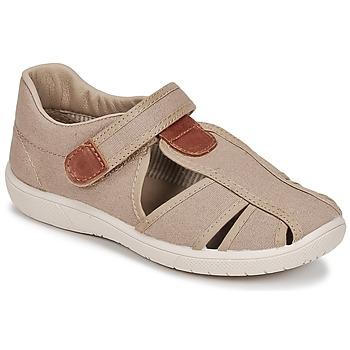 Chaussures Garçon Sandales et Nu-pieds Citrouille et Compagnie GUNCAL Beige