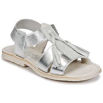 Chaussures Fille Sandales et Nu-pieds Citrouille et Compagnie INAPLATA Argenté