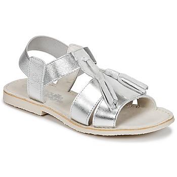 Chaussures Fille Sandales et Nu-pieds Citrouille et Compagnie INAPLATA Argent