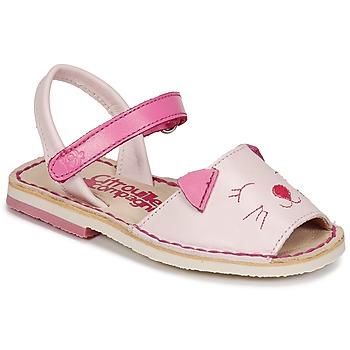 Chaussures Fille Sandales et Nu-pieds Citrouille et Compagnie ILOUDFI Rose