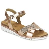 Chaussures Fille Sandales et Nu-pieds Citrouille et Compagnie GAUFRETTE Bronze