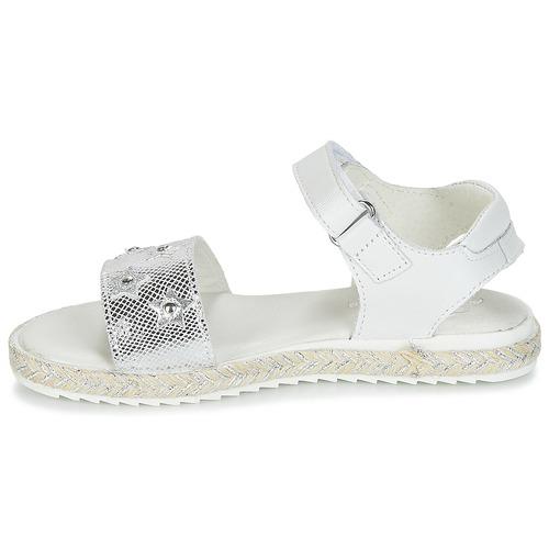 Nu Fille BlancArgent Sandales pieds Ilevandok Et Compagnie Citrouille Chaussures f6ybg7