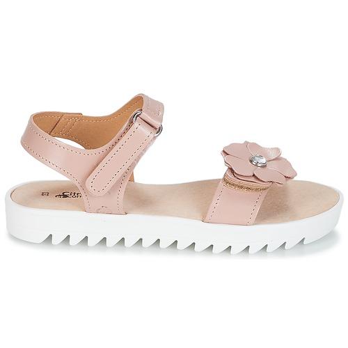 Compagnie Sandales Ilodo Chaussures Rose pieds Et Nu Fille Citrouille QCedBorxW