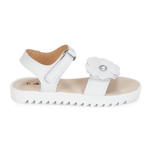 Et Compagnie Nu Ilodo Sandales Citrouille Blanc Fille Chaussures pieds Tlu1JcFK3