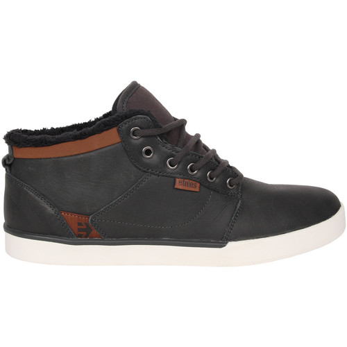 Etnies JEFFERSON MID DARK GREY  - Chaussures Basket montante