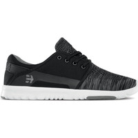Chaussures Chaussures de Skate Etnies SCOUT YB BLACK GREY